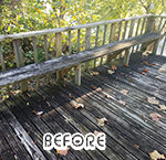 Before Wood Sealing