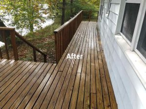 After Sealing a Deck