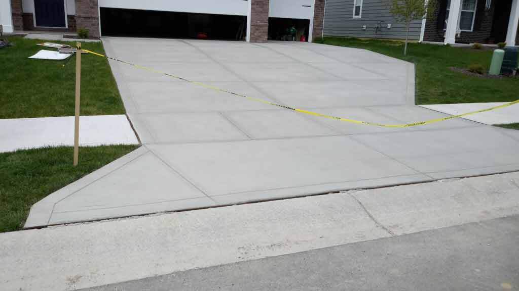 After Driveway Seal