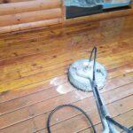 Scrub-sealing-wood-deck